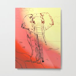 Listen to your Elders Metal Print