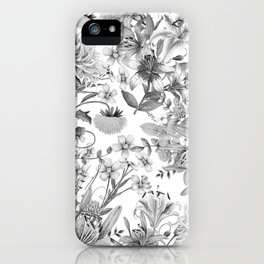 FLORAL GARDEN 4 iPhone Case