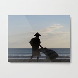 The Lone Salesman Metal Print
