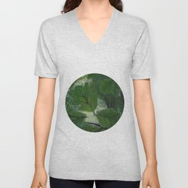 Nature's Fingerprints Unisex V-Neck