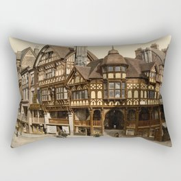 The Cross and Rows 1895 Rectangular Pillow