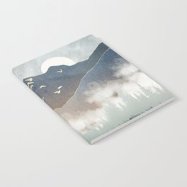 Blue Mountain Mist Notebook