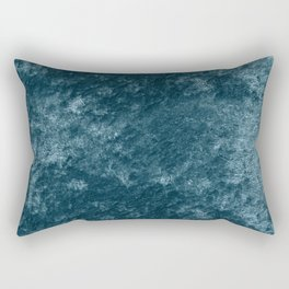 Peacock teal velvet Rectangular Pillow