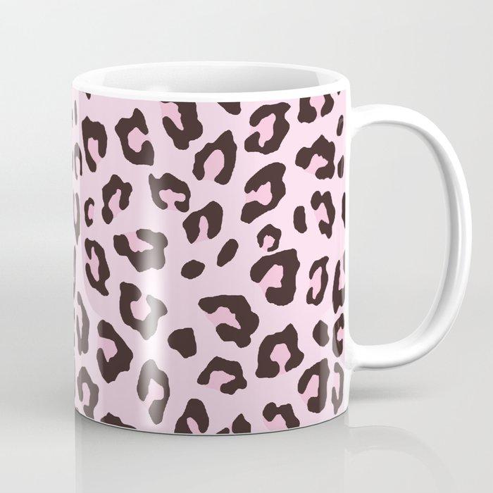 Leopard Print - Pink Chocolate Coffee Mug