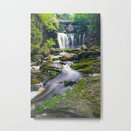 Blackwater Falls State Park Waterfall Print Metal Print