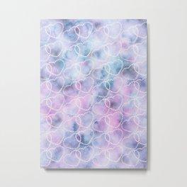 Cosmic Heart Dream Pattern #1 #love #decor #art #society6 Metal Print