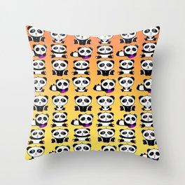 Panda Pattern Throw Pillow