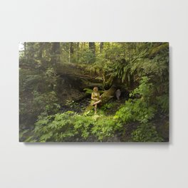 Forest Fantasy Metal Print