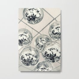 Disco Ball Metal Print