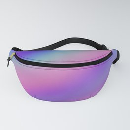 Iridescent Holographic Abstract Colorful Pattern Fanny Pack