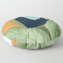 Nature Geometry VIII Floor Pillow