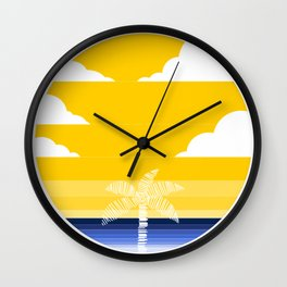 summer is here Wall Clock