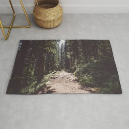 Entering the Wilderness - Landscape and Nature Photography Rug