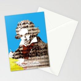 Ludwig van Beethoven 2 Stationery Cards
