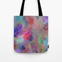 Electro Jellyfish Ball Tote Bag