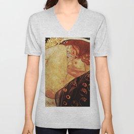 Gustav Klimt ''Danae'' Unisex V-Neck