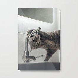 Need A Drink Metal Print