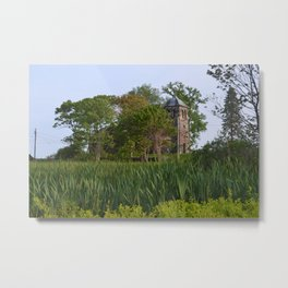 Faith, Etched in Stone • St Anne's by the Sea, Kennebunkport Metal Print