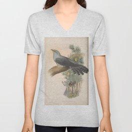 067 Common Cuckoo cuculus canorus4 Unisex V-Neck