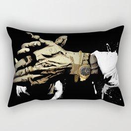 Las manos del Camarón Rectangular Pillow