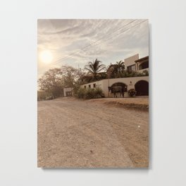 Playa Sunrise  Metal Print