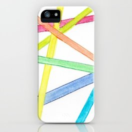 Thank You: Stripes iPhone Case