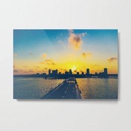 St. Petersburg, Florida Metal Print