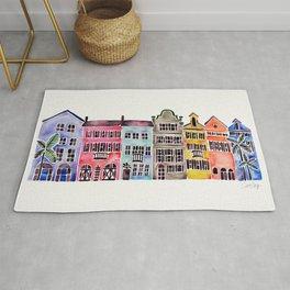 Rainbow Row – Charleston Rug