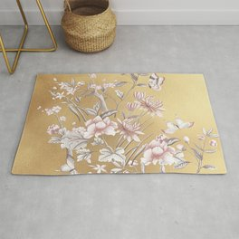 Chinoiserie Gold Rug