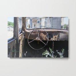 Car Decay Metal Print