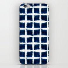 Shibori Blocks iPhone Skin