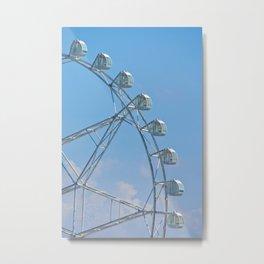 MoA Ferris Wheel Metal Print