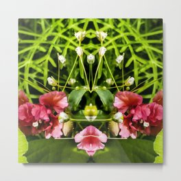 Flowers and Baby's Breath Too Metal Print