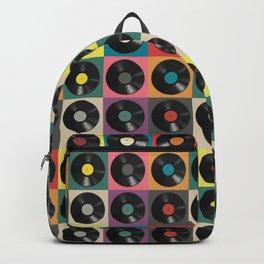 Vinyl Record Backpack
