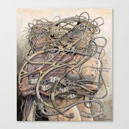de hypterion II - Meta-Union - Biomechanic Love Canvas Print
