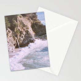 mcway falls in big sur Stationery Cards