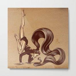 Gifts of yoga Metal Print