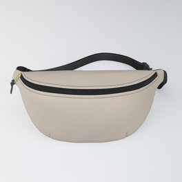 Sherwin Williams Trending Colors of 2019 Dhurrie Beige SW 7524 Solid Color Fanny Pack