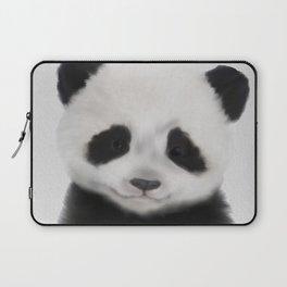 Baby Panda Print, Nursery Animal - Printable Wall Art - Kids Bedroom Poster, Boys Room Decor Laptop Sleeve