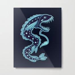 Abyssal Lurker Metal Print