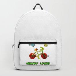 Veggie Bicycle Backpack