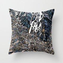 Aspen Colorado Throw Pillow