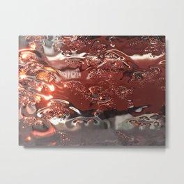 Mosaic Rain Metal Print