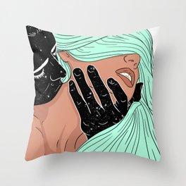 JUICY JUICY Throw Pillow