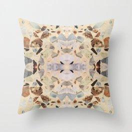Terrazzo Rorschach Testing Throw Pillow