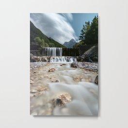 Stunning scenery at Krnica valley, Slovenia Metal Print