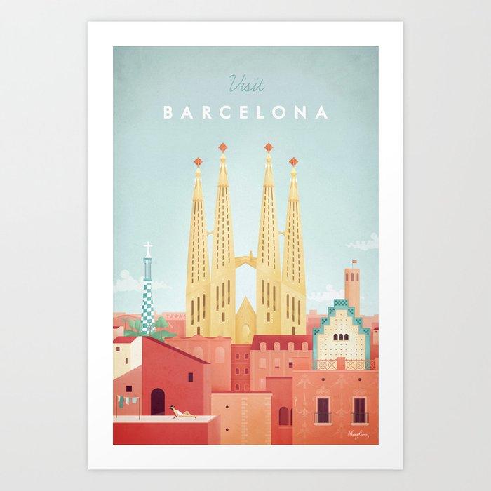 Barcelona Kunstdrucke