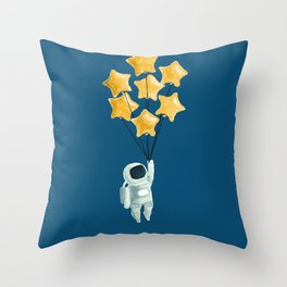 Astronaut's dream Throw Pillow
