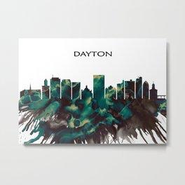 Dayton Skyline Metal Print