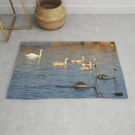 Scottish Photography Series (Vectorized) - Swanning About  Rug